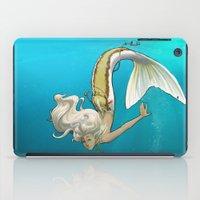 kiki iPad Cases featuring Kiki, fin style! by Jackie Musto