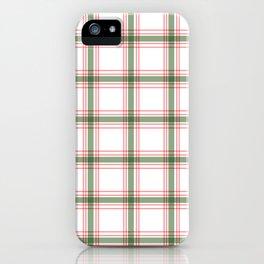Plaid Design #2 iPhone Case