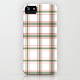 Plaid Design #2 iPhone Case