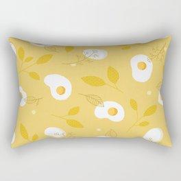 Happy Eggs Rectangular Pillow