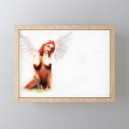 The naked truth Framed Mini Art Print