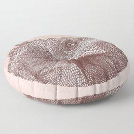 Iguana Floor Pillow