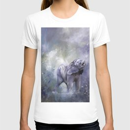 A cute baby elephant T-shirt