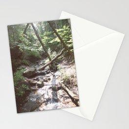Waterfall in Munising, Michigan Upper Peninsula Stationery Cards