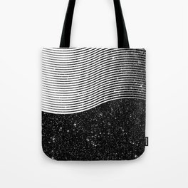 Black Color Tote Bag