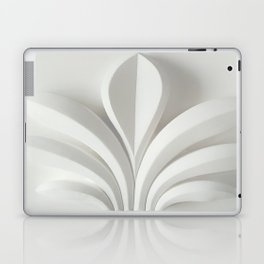 White sculpture Laptop & iPad Skin