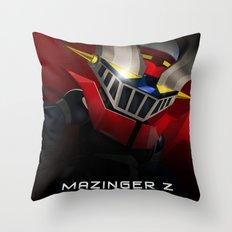 mazinger fan art Throw Pillow