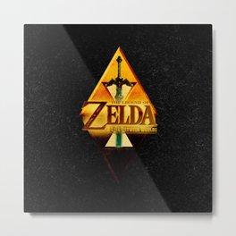 THE LEGEND of ZELDA-Link Metal Print