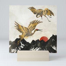 Elegant Flight II Mini Art Print