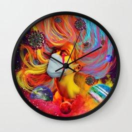 19 Lies Wall Clock