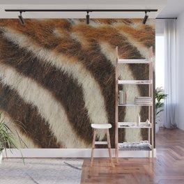Zebra Fur Wall Mural