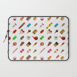 80s Italian ICE CREAM random Laptop Sleeve