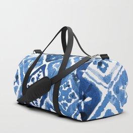 Arabesque tile art Duffle Bag