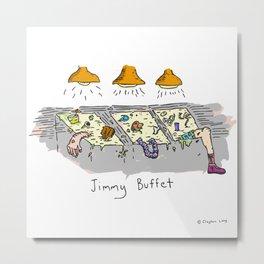 Jimmy Buffet Metal Print