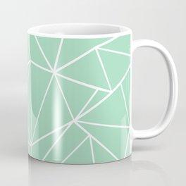 Abstract Heart Mint Coffee Mug
