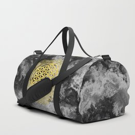 Flower Of Life (Batik 10) Duffle Bag