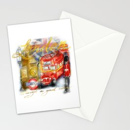 Take me to London Stationery Cards
