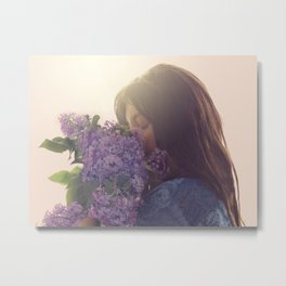 Embraced by your fragrance Metal Print