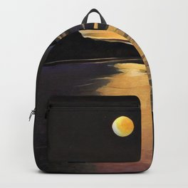 Blood Moon Reflection Backpack