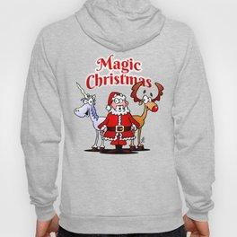 Magic Christmas with a unicorn Hoody