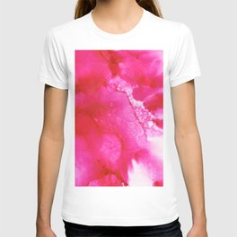 Alpine Rose - Abstract Watercolor T-shirt