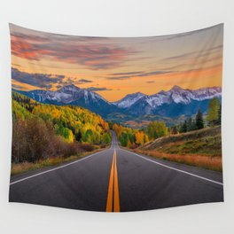 The Road To Telluride Wall Tapestry