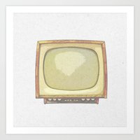 tv Art Prints featuring Television* by Mr and Mrs Quirynen