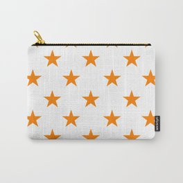 Stars (Orange/White) Carry-All Pouch