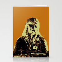 chewbacca Stationery Cards featuring Chewbacca by iankingart