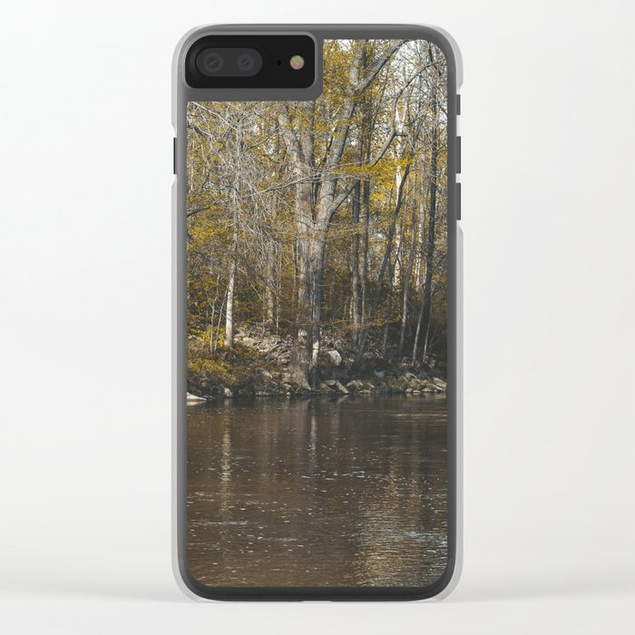 Take Me To The River Clear iPhone Case