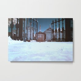 Lafayette Cemetery in Infrared Metal Print