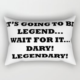 Legendary Rectangular Pillow