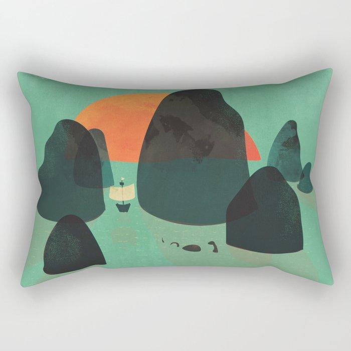 No one ever believed them... Rectangular Pillow