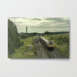 HST at Steventon  Metal Print