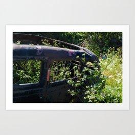 Parsley and rust Art Print