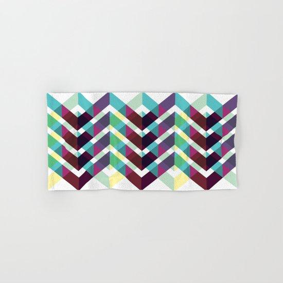 Geometric Pattern #4 (Zig Zag) Hand & Bath Towel