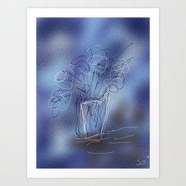 Bouqet Art Print