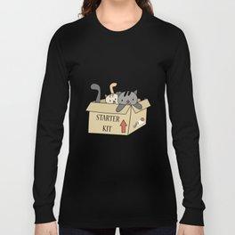 Crazy Cat Lady Starter Kit Long Sleeve T-shirt