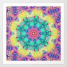 Garden Mandala Art Print