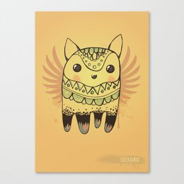 Jelly Fox Canvas Print