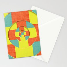 RINGS WITHIN RINGS Stationery Cards