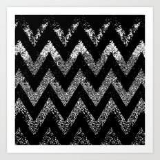 life in black and white Art Print