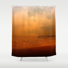 Soul in the wind Shower Curtain