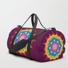 Mandala- Spectrum Lotus Duffle Bag