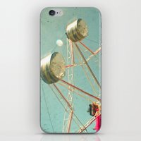 ferris wheel iPhone & iPod Skins featuring Ferris Wheel by Cassia Beck
