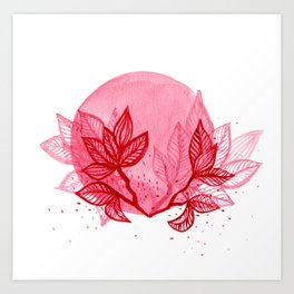 Dare to bloom Art Print