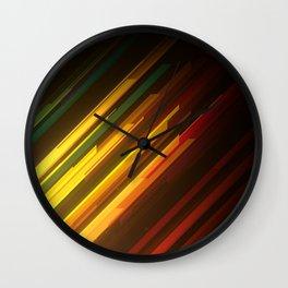Procedural Diagonals 004 Wall Clock