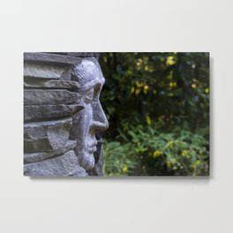 the old that is strong does not wither  Metal Print
