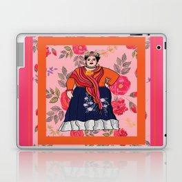 Fluffy Francesca Laptop & iPad Skin