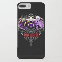 Three Wise Villains iPhone Case